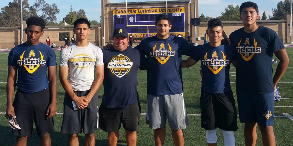 Montebello participated in the Cal Lutheran Football Camp