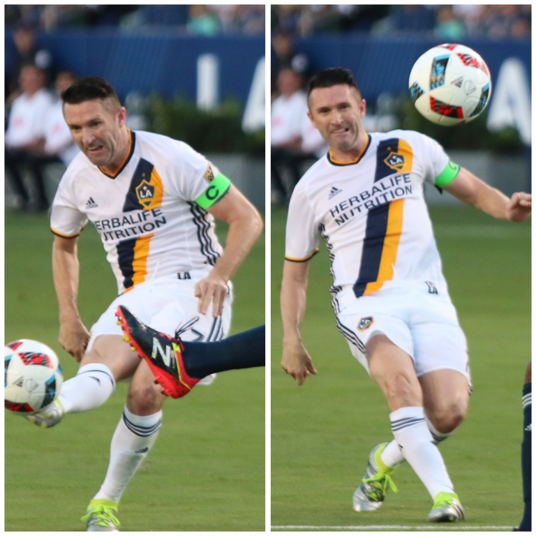 Robbie Keane returned to the lineup and immediately had an impact scoring the games first goal!