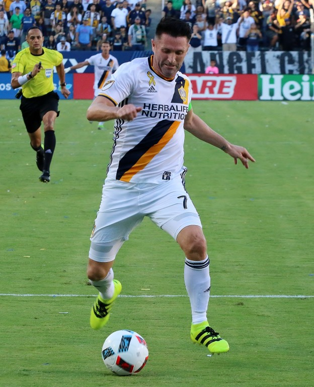 Robbie Keane returned the the pitch in the second half and scored! (Photo by Duane Barker)