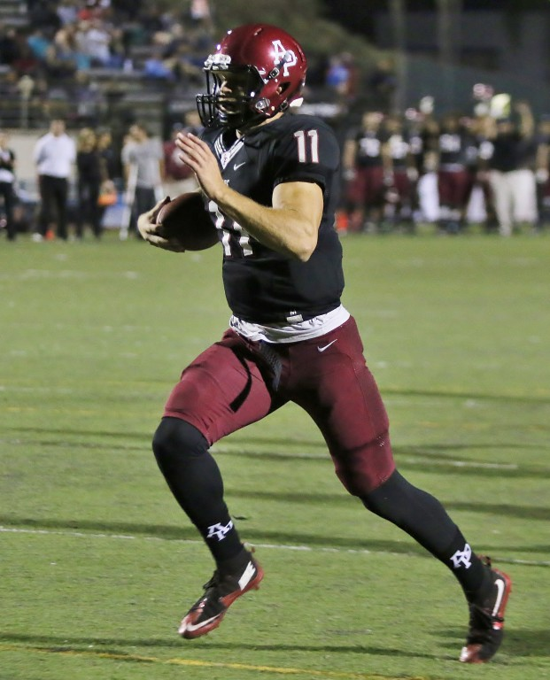 Quarterback Andrew Elffers used his arm and his legs to beat Humboldt State
