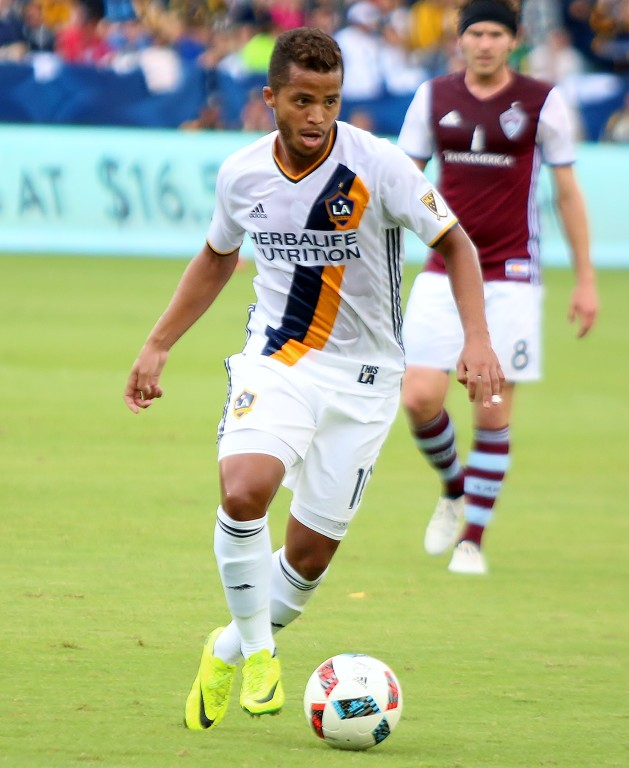 Giovani dos Santos gets the only goal of the match.
