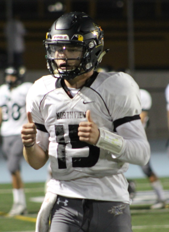 It was thumbs up for Steven Comstock and the Vikings in win over San Dimas