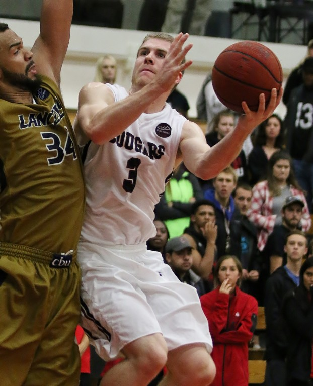 Connor Peterson scored 16 for APU but the Cougars fell short.