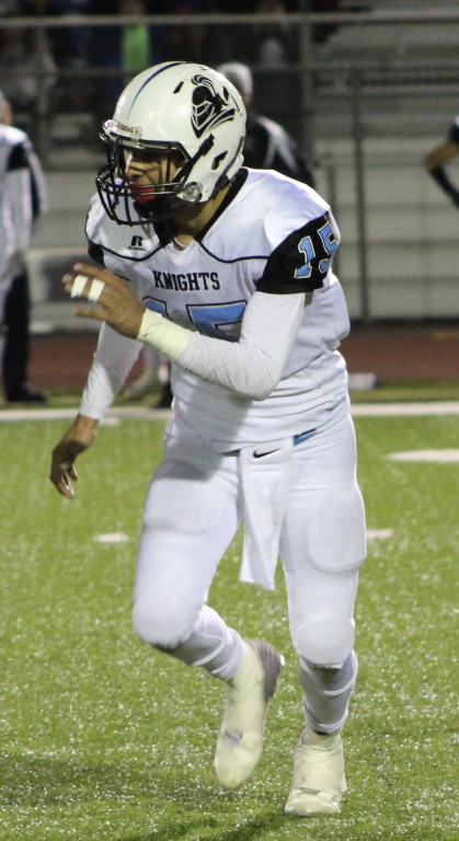 Ernesto Camacho and the Arroyo Knights are headed to the State Bowl Saturday night.