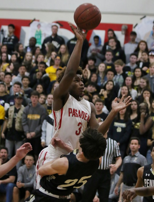 Darius Mason added 10 big points for PHS (Photo by Duane Barker)
