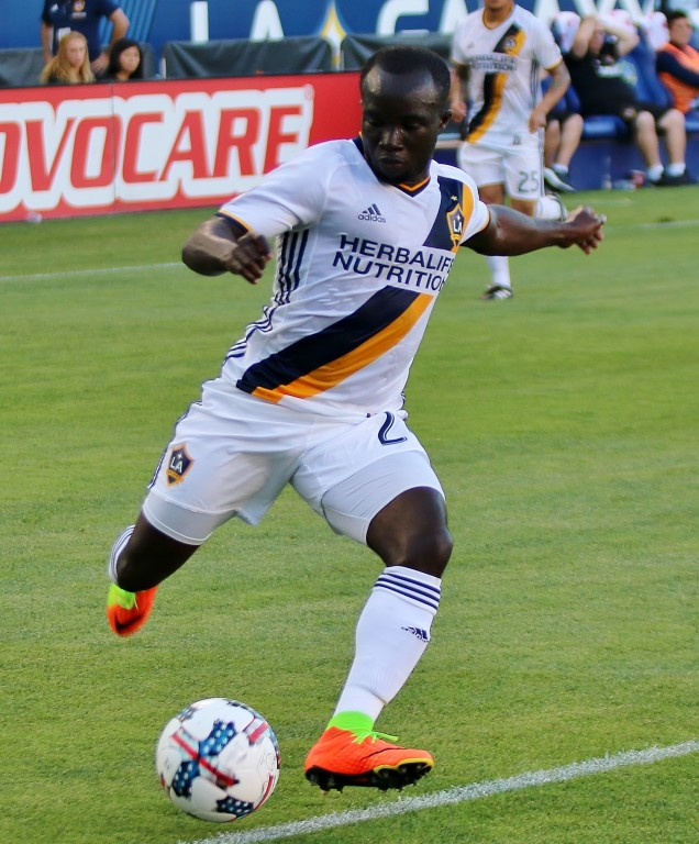 Ema Boateng came on in the second half and tried to provide a spark. (Photo by Duane Barker)