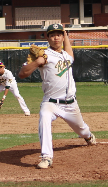 Yuji Sakane threw six strong innings to pick up the win for Temple City.